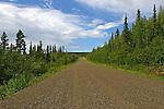 THE DEMPSTER HIGHWAY, THE YUKON, CANADA, ROAD TO INUVIK