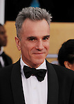LOS ANGELES, CA - JANUARY 27: Daniel Day-Lewis arrives at the19th Annual Screen Actors Guild Awards held at The Shrine Auditorium on January 27, 2013 in Los Angeles, California.