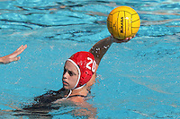 17 February 2008: Lauren Silver during Stanford's 10-5 win over UC Davis at the Avery Aquatic Center in Stanford, CA.