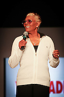 International recording star and music icon, Dionne Warwick on stage before Opening Night at Miami Beach International Fashion Week , Miami Beach Convention Center, Miami Beach, Florida, USA, March 20, 2012 ... Photo by Debi Pittman Wilkey
