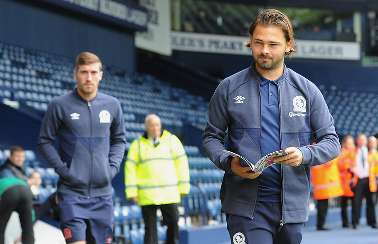 Blackburn Rovers' Bradley Dack<br /> <br /> Photographer Kevin Barnes/CameraSport<br /> <br /> The EFL Sky Bet Championship - West Bromwich Albion v Blackburn Rovers - Saturday 31st August 2019 - The Hawthorns - West Bromwich<br /> <br /> World Copyright © 2019 CameraSport. All rights reserved. 43 Linden Ave. Countesthorpe. Leicester. England. LE8 5PG - Tel: +44 (0) 116 277 4147 - admin@camerasport.com - www.camerasport.com
