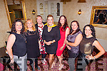 ++REPRO FREE++<br /> Celebrating her 40th birthday was Michelle Kane from Knocknagoshal, pictured here in Leen's Hotel, Abbeyfeale last Saturday night, also pictured l-r was Theresa Walsh, Anne Keane, Mary Anne Kane, Miriam Brosnan, Deirdre Walsh and Anne Marie Murphy.  <br /> <br /> Anne Keane - 087 6542265