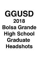 GGUSD 2018 Bolsa Grande HS Grad headshots