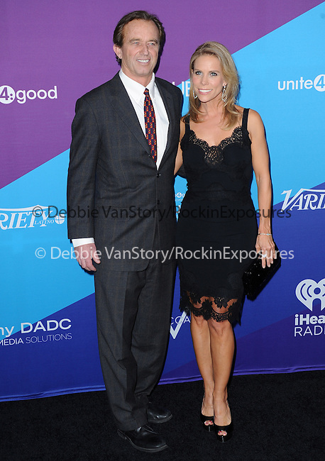 "Cheryl Hines and Robert F. Kennedy attends unite4:good and Variety presentation ""unite4:humanity"" Celebrating Good, Giving and Greatness Around the Globe held at Sony Picture Studios in Culver City, California on February 27,2014                                                                               © 2014 Hollywood Press Agency"