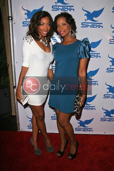 Dorcas Tejeda and Kimaris Jones<br /> at Shiekh's Fshion Night Out Party, Highlands, Hollywood, CA. 09-10-10<br /> David Edwards/Dailyceleb.com 818-249-4998