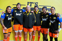 150703 Super Rugby - Hurricanes Captain's Run