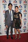 CENTURY CITY, CA. - November 05: Dev Patel and Freida Pinto  attend the 18th Annual BAFTA/LA Britannia Awards at the Hyatt Regency Century Plaza Hotel on November 5, 2009 in Century City, California.