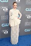 SANTA MONICA, CA - JANUARY 11: Actor Kate Bosworth attends The 23rd Annual Critics' Choice Awards at Barker Hangar on January 11, 2018 in Santa Monica, California.