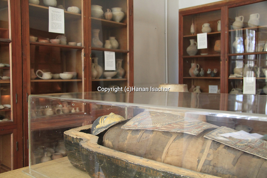 Israel, Jerusalem, the Egyptian mummy at the Pontifical Biblical Institute