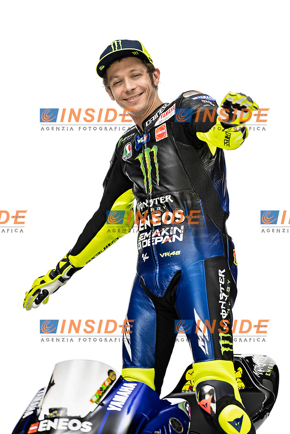 Valentino Rossi <br /> 2019 MONSTER ENERGY YAMAHA MOTOGP TEAM PRESENTATION <br /> 14/01/2019<br /> Foto Yamaha Press Office / Insidefoto <br /> Editorial Use Only