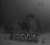 El Aguila wreck, Roatan