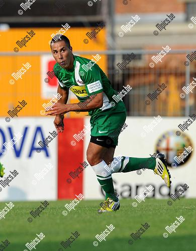 2013-07-13 / Voetbal / seizoen 2013-2014 / Lyra - Racing Mechelen / Achraf Essikal<br /><br />Foto: Mpics.be