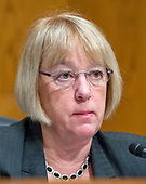 United States Senator Patty Murray (Democrat of Washington), ranking member of the US Senate Committee on Health, Education, Labor & Pensions, makes her opening statement during the confirmation hearing for R. Alexander Acosta, Dean of Florida International University College of Law and US President Donald J. Trump's nominee for US Secretary of Labor, on Capitol Hill in Washington, DC on Wednesday, March 22, 2017.<br /> Credit: Ron Sachs / CNP