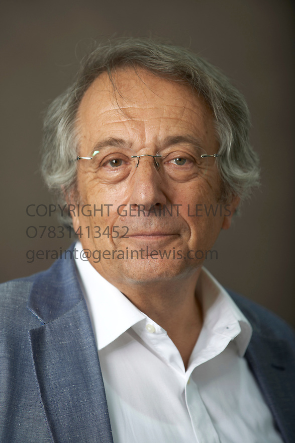 Professor Paul Broda, writer and son of man who passedon allied secrets to the Soviets about nuclear weapons during the second world war at The Edinburgh International Book Festival   . Credit Geraint Lewis
