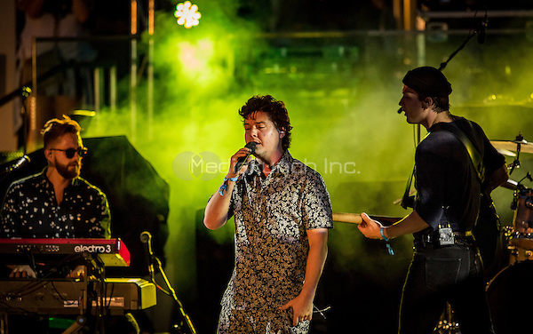 LAS VEGAS, NV - May 15, 2016: ***HOUSE COVERAGE*** Lukas Graham performing at CBS Radio Presents: SPF at The Boulevard Pool at The Cosmopolitan of Las Vegas in Las vegas, NV on May 15, 2016. Credit: Erik Kabik Photography/ MediaPunch