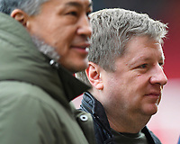 AFC Bournemouth owner Max Demin (r) during AFC Bournemouth vs Arsenal, Premier League Football at the Vitality Stadium on 14th January 2018
