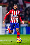 Thomas Lemar of Atletico de Madrid in action during the La Liga 2018-19 match between Atletico Madrid and FC Barcelona at Wanda Metropolitano on November 24 2018 in Madrid, Spain. Photo by Diego Souto / Power Sport Images