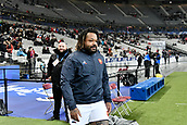 February 1st 2019, St Denis, Paris, France: 6 Nations rugby tournament, France versus Wales;  Mathieu Bastareaud (fr)
