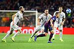 UEFA Champions League 2018/2019 - Matchday 3.<br /> FC Barcelona vs FC Internazionale Milano: 2-0.<br /> Matias Vecino vs Arthur Melo.