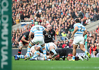 England's Dan Cole<br /> <br /> Photographer Rachel Holborn/CameraSport<br /> <br /> International Rugby Union Friendly - Old Mutual Wealth Series Autumn Internationals 2017 - England v Argentina - Saturday 11th November 2017 - Twickenham Stadium - London<br /> <br /> World Copyright &copy; 2017 CameraSport. All rights reserved. 43 Linden Ave. Countesthorpe. Leicester. England. LE8 5PG - Tel: +44 (0) 116 277 4147 - admin@camerasport.com - www.camerasport.com