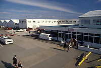 airport, Bermuda, Bermuda International Airport in St. George's Parish.