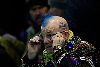 A Mansfield Town fan adjusts his glasses prior to the game<br /> <br /> Photographer Chris Vaughan/CameraSport<br /> <br /> The EFL Sky Bet League Two - Mansfield Town v Lincoln City - Monday 18th March 2019 - Field Mill - Mansfield<br /> <br /> World Copyright © 2019 CameraSport. All rights reserved. 43 Linden Ave. Countesthorpe. Leicester. England. LE8 5PG - Tel: +44 (0) 116 277 4147 - admin@camerasport.com - www.camerasport.com