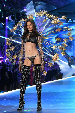 NEW YORK, NY - NOVEMBER 08: Barbara Fialho at the 2018 Victoria's Secret Fashion Show at Pier 94 on November 8, 2018 in New York City. Credit: John Palmer/MediaPunch