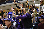 GRAND RAPIDS, MI - MARCH 18: Amherst College fans cheer during the Division III Women's Basketball Championship held at Van Noord Arena on March 18, 2017 in Grand Rapids, Michigan. Amherst defeated 52-29 for the national title. (Photo by Brady Kenniston/NCAA Photos via Getty Images)