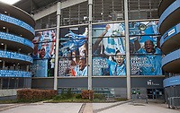 General view outside of the Man City Stadium ahead of the International Friendly match between Argentina and Italy at the Etihad Stadium, Manchester, England on 23 March 2018. Photo by Andy Rowland.