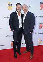 "17 June 2017 - Culver City, California - Jaun Pablo Raba, Matt Gerald. LA Film Festival Premiere of ""Shot Caller"" held at ArcLight Culver City in Culver City. Photo Credit: Birdie Thompson/AdMedia"
