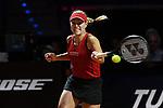 25.04.2018, Porsche-Arena, Stuttgart, GER, Porsche Tennis Grand Prix 2018, Petra Kvitova (CZE) vs Angelique Kerber (GER) im Bild Angelique Kerber (GER)<br /> <br /> Foto © nordphoto / Hafner