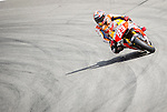 The rider Marc Marquez of MotoGP during the qualifying practice of the Grand Prix Mugello. Italy. 31/05/2014. Samuel Roman/Photocall3000