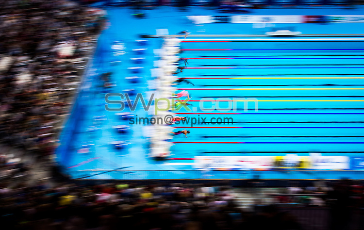 Picture by Alex Whitehead/SWpix.com - 08/08/2015 - Swimming - 16th FINA World Swimming Championships 2015 - Kazan Arena Stadium, Kazan, Russia - A General View (GV).