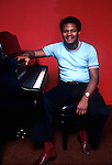 McCoy Tyner, Aug. 1978, Fantasy Records, Berkeley. jazz pianist from Philadelphia, Pennsylvania, known for his work with the John Coltrane Quartet and a long solo career. Tyner is considered to be one of the most influential jazz pianists of the 20th Century, an honor he earned both with Coltrane and in his years of performing following Coltrane's passing.