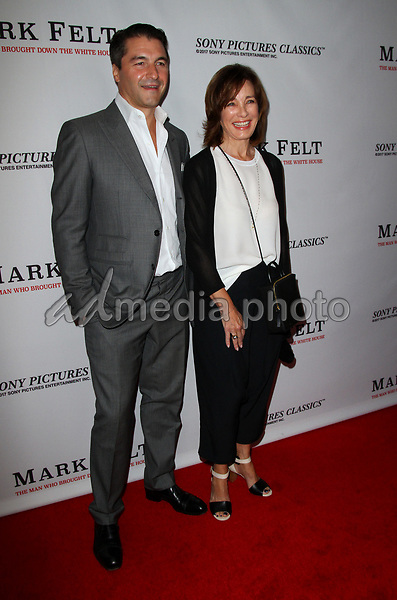 "26 September 2017 - Beverly Hills, California - Anne Archer and son Tommy Davis. ""Mark Felt: The Man Who Brought Down The White House"" Los Angeles Premiere held at the Writers Guild Theatre. Photo Credit: AdMedia"