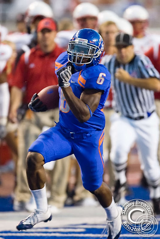 Boise State football defeated Miami of Ohio 48-0 Saturday September 12th in Bronco Stadium in Boise Idaho.
