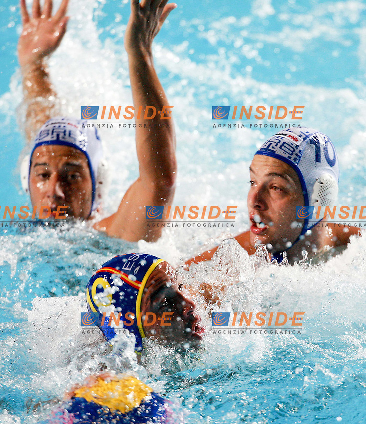 Roma 1st AUGUST 2009 - 13th Fina World Championships .From 17th to 2nd August 2009.SERBIA-SPAIN 14-13.SERBIA GOLD MEDAL.SPAIN SILVER MEDAL..SERBIA.1 SORO Slobodan .2 AVRAMOVIC Marko .3 GOCIC Zivko.4 UDOVICIC Vanja.5 GAK Slavko .6 PIJETLOVIC Dusko .7 NIKIC Slobodan .8 ALEKSIC Milan .9 RADJEN Nikola .10 FILIPOVIC Filip .11 PRLAINOVIC Andrija .12 MITROVIC Stefan .13 PIJETLOVIC Gojko...SPAIN ..1 AGUILAR Inaki .2 GARCIA Mario .3 MARTIN David .4 MALLARACH Blai .5 MOLINA Guillermo.6 MINGUELL Marc .7 GALLEGO Ivan .8 ESPANOL Albert .9 VALLES Xavier .10 PERRONE Felipe .11 PEREZ Ivan .12 GARCIA Xavier .13 LOPEZ Daniel.Roma2009.com/InsideFoto/SeaSee.com