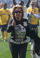 SAO PAULO, SP, 10.05.2014 - JOGO TESTE CORINTHIANS - Marlene Matheus Arena Corinthians durante jogo teste-festivo na regiao leste de Sao Paulo neste sabado, 10. (Foto: William Volcov / Brazil Photo Press).