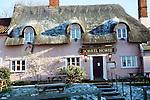 Sorrel Horse thatched pub,  January 2009, Shottisham, Suffolk, England
