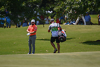 Tyrrell Hatton (ENG) looks over his approach shot on 9 during round 4 of the WGC FedEx St. Jude Invitational, TPC Southwind, Memphis, Tennessee, USA. 7/28/2019.<br /> Picture Ken Murray / Golffile.ie<br /> <br /> All photo usage must carry mandatory copyright credit (© Golffile | Ken Murray)