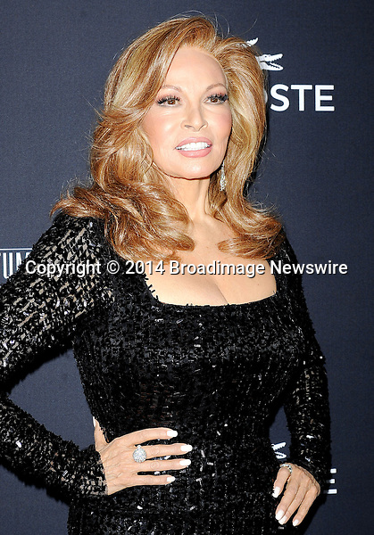 Pictured: Raquel Welch<br /> Mandatory Credit &copy; Adhemar Sburlati/Broadimage<br /> The 16th Costume Designers Guild Awards<br /> <br /> 2/23/14, Los Angeles, California, United States of America<br /> <br /> Broadimage Newswire<br /> Los Angeles 1+  (310) 301-1027<br /> New York      1+  (646) 827-9134<br /> sales@broadimage.com<br /> http://www.broadimage.com