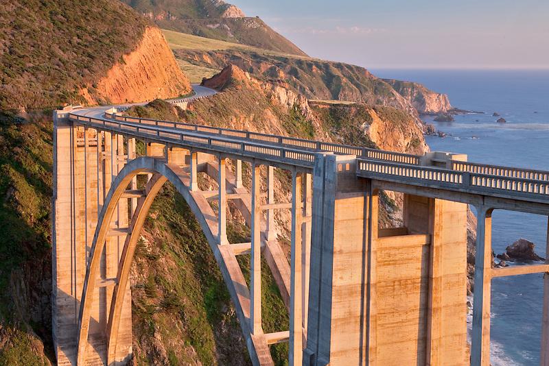 Bixby Creek Bridge. Big Sur coast. California.
