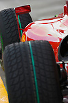 02 Apr 2009, Kuala Lumpur, Malaysia ---   Scuderia Ferrari Marlboro car with wet tyres during the 2009 Fia Formula One Malasyan Grand Prix at the Sepang circuit near Kuala Lumpur. Photo by Victor Fraile --- Image by © Victor Fraile / The Power of Sport Images