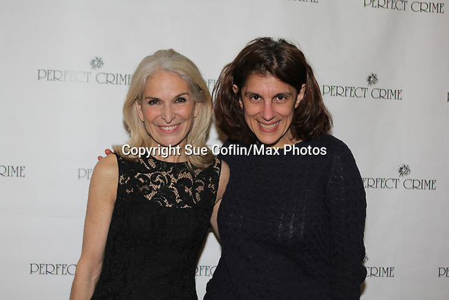 Perfect Crime - 30th Anniversary off-Broadway with Catherine Russell who originated the role of Margaret and has played every performance except 4 since April of 1987 and is in the Guiness Book of World Records. The 30th anniversary was on April 18, 2017 at Bernstein Theatre, New York City, New York. (Photo by Sue Coflin/Max Photos)