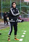 Solna 2015-10-11 Fotboll Damallsvenskan AIK - FC Roseng&aring;rd :  <br /> AIK:s tr&auml;nare chefstr&auml;nare Nazanin Vaseghpanah under matchen mellan AIK och FC Roseng&aring;rd <br /> (Foto: Kenta J&ouml;nsson) Nyckelord:  Damallsvenskan Allsvenskan Dam Damer Damfotboll Skytteholm Skytteholms IP AIK Gnaget  FC Roseng&aring;rd portr&auml;tt portrait