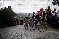 last year's winner Jelle Wallays (BEL/Lotto-Soudal) topping the Paterberg<br /> <br /> 71st Dwars door Vlaanderen (1.HC)