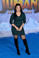 """LOS ANGELES, USA. December 10, 2019: Jordin Sparks at the world premiere of """"Jumanji: The Next Level"""" at the TCL Chinese Theatre.<br /> Picture: Paul Smith/Featureflash"""