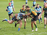 Boynes Marco Cangemi and Barnhalls Darren Hudson at Boyne V Barnhill<br /> Photo - Jenny Matthews