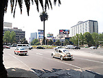 Daily scene of Metropolis Mexico City D.F