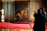 L'ADORAZIONE DEI PASTORI DEL CARAVAGGIO<br /> Roma 11/02/2010 Incontro alla Sala della Lupa in occasione del completamento del restauro dell'Adorazione dei Pastori del Caravaggio.<br /> Meeting in occasion of the restore of a Caravaggio painting called L'Adorazione dei Pastori. <br /> Photo Samantha Zucchi Insidefoto